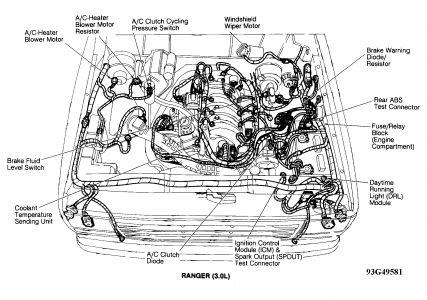 1999 Ford Ranger 30 Engine Diagram