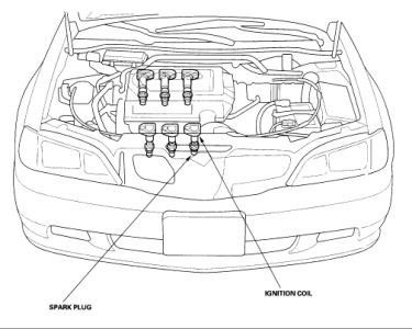 1999 Acura TL Ignition Coil: Where Is the Ignition Coil