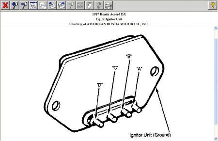 1987 Honda Accord Ignition Module: Electrical Problem 1987