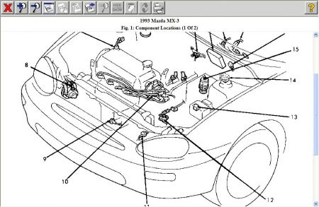 1993 Mazda Mx3 Engine Diagram 1993 Mazda B2200 Engine