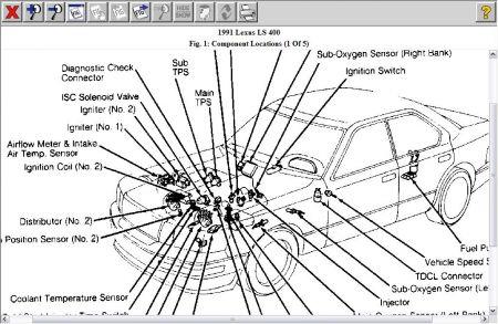 96 lexus ls400 fuse box 96 lexus sc wiring diagram