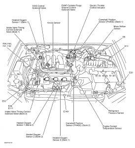 2002 Nissan Maxima ITC Valve Cleaning 2002 Maxima: Engine