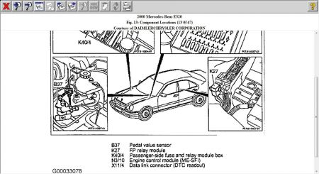 2000 Mercedes E320 Wagon Battery Location, 2000, Free