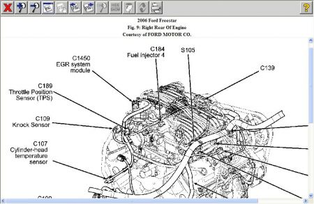 Vacuum Diagram 2004 Freestar. Diagram. Wiring Diagram Images