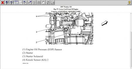2007 Pontiac G6 Knock Sensor: Engine Performance Problem