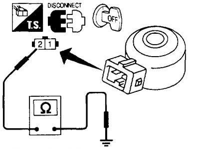 1997 Infiniti Q45: 1997 Infiniti Q45 V8 KNock Sensor