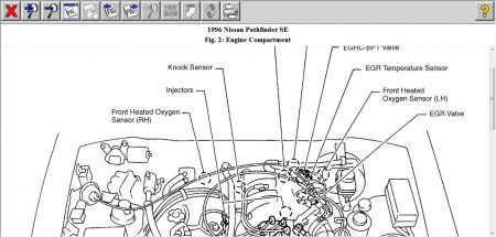 1996 Nissan Pathfinder Knock Sensor: How Do I Locate and