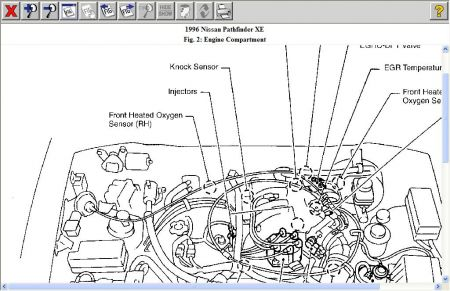 1996 Nissan Pathfinder Anti-Knock Sensor: Two Sources Tell