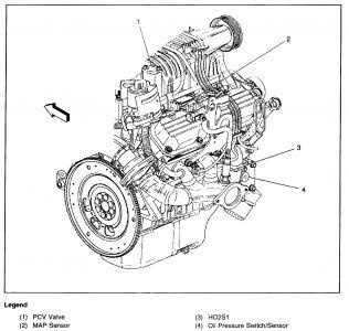 2000 Pontiac Bonneville Map Sensor: 2000 Pontiac