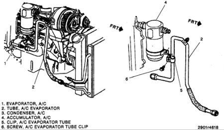 1994 Chevy S-10 Orifice Tube Location: Needing the Orifice Tube
