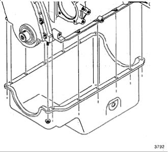 1996 GMC Sonoma Oil Pan Removal: Engine Mechanical Problem