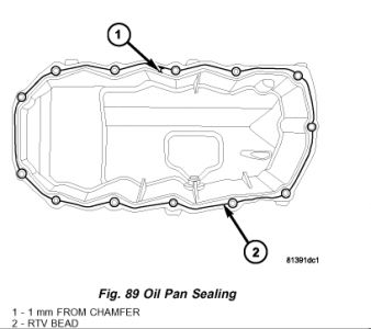 2005 Dodge Stratus How to Replace An Oil Pan?