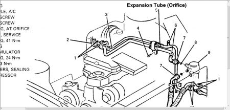 Service manual [How To Replace Ac Tube In A 1992 Geo Storm