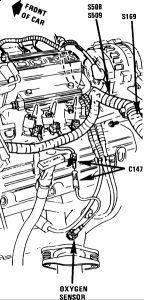 1991 Buick Century Oxygen Sensor: Engine Mechanical