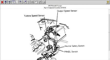 1992 Plymouth Voyager Sensor: Electrical Problem 1992