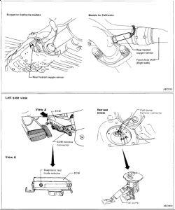 1996 Nissan Sentra OXIGEN SENSOR: I TOOK CAR TO ADVANCE