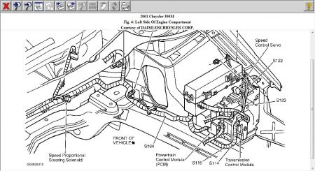 99 Chrysler 300m Radiator Cooling Fan Wiring Diagram : 52