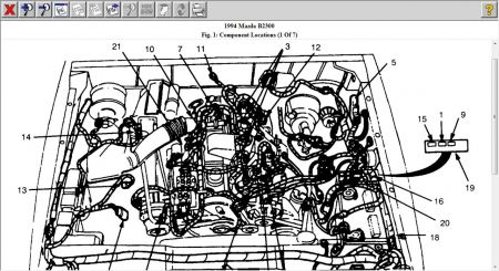 2 3 Liter Mazda Tribute Engine Diagram Diagram For Pontiac