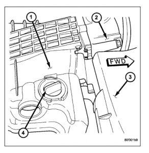 Pcv Valve: Location of Pcv Valve? Hemi Magnum 5.7 Liter