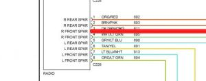 1997 Ford Explorer Radio Wiring Colors: Electrical Problem 1997