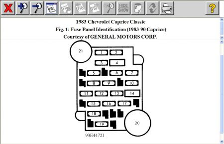86 chevy truck radio wiring diagram all vehicle diagrams 83 fuse box • for free