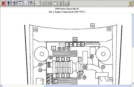 Diagram Of 2004 Pontiac Bonneville Motor : 40 Wiring