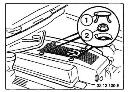 1993 BMW 740 Spark Plug Diagram: Engine Mechanical Problem
