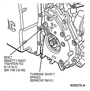 1999 Mercury Sable SEEP SENSOR: I'm Trying to Replace a