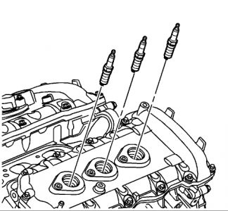 2007 Cadillac CTS Spark Plugs: Engine Performance Problem