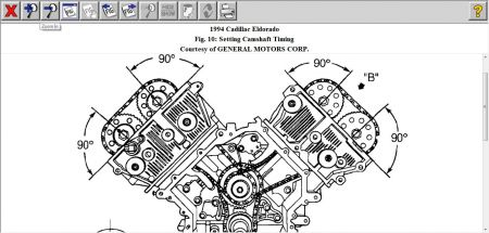 Service manual [1994 Cadillac Seville Timing Chain Marks