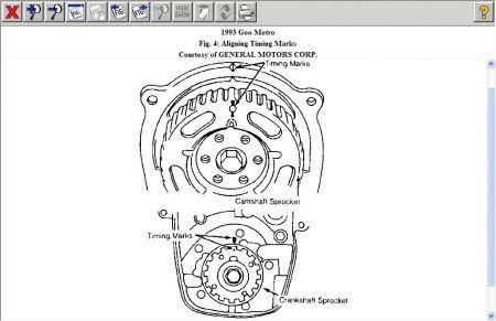 1993 Geo Metro Timeing: Engine Mechanical Problem 1993 Geo