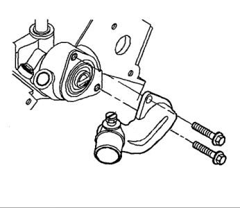 1998 Oldsmobile Achieva Thermostat Replacement: Where Is