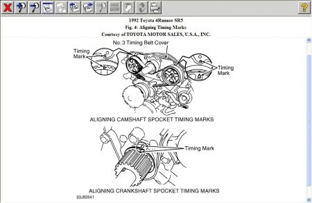 1992 Toyota 4Runner Timing Mark: I Already Send You My