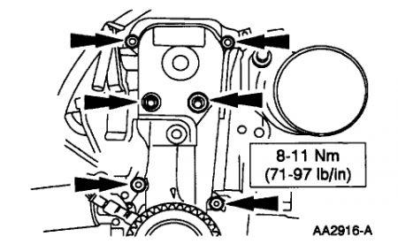 1998 Ford Escort Timing Belt: Engine Mechanical Problem