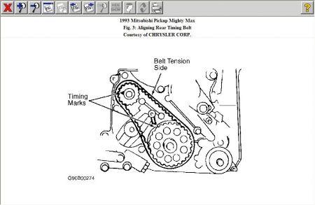 1992 Mitsubishi Mighty Max Engine Diagram 1992 Mitsubishi