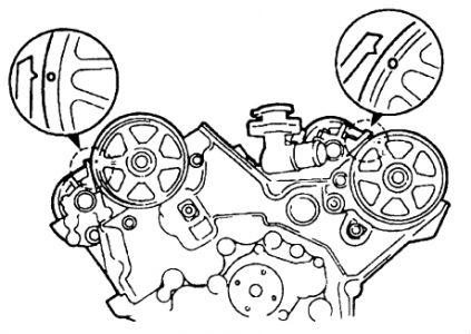 1998 Mazda Millenia 98 Mazda Millenia Timing Mark Specs