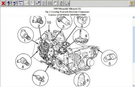 2005 Chevy Malibu 2 Ecotec Engine Diagrams, 2005, Free