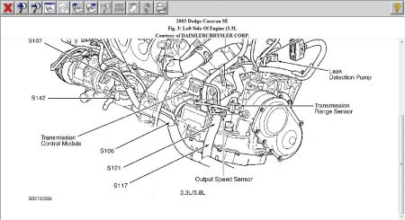 Engine Will Not Turnover: Six Cylinder Front Wheel Drive