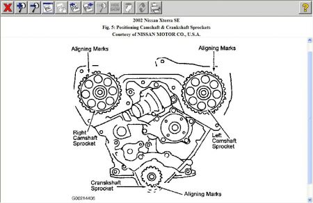 2002 Nissan Xterra Cam Timing: Engine Mechanical Problem