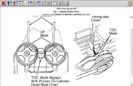 Water Pump & Timing Belt Replacement: 1994 Acura Integra