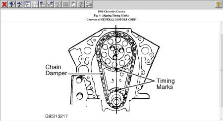 Sbc Timing Chain Marks Pictures to Pin on Pinterest