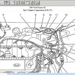 2000 Ford Taurus Engine Diagram Wiring For Rocker Switch 1999 Diagramtaurus Diagrams Hubs1997