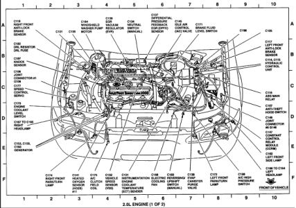 Ford Taurus Engine Diagram, Ford, Free Engine Image For