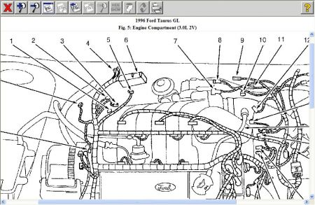 1996 Ford Taurus Where Is the Speed Sensor Located?