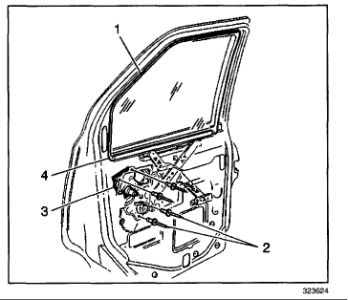 2002 GMC Safari: How to Remove the Window Regulator, and