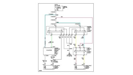 2002 Ford Mustang Wire Diagram for Electric Windows