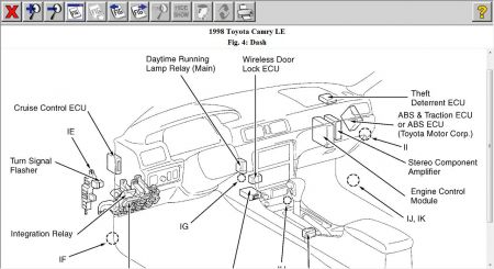 1998 Toyota Camry Passenger Side Door: My Passenger Side