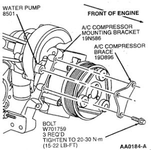 1998 Ford Taurus Water Pump: Engine Cooling Problem 1998