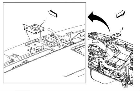 2007 Cadillac Escalade Navigation Antenna: I'm Writing to