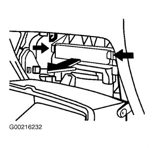 2007 Pontiac Vibe Loss of Air Flow When Swiching to Recycle